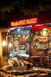 Mercado de la noche en Siem Reap, Camboya Foto de archivo