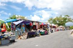 Mercado de la paja Imagenes de archivo