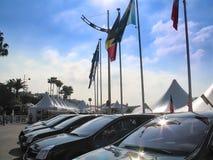 Mercado de la película de Cannes Foto de archivo libre de regalías