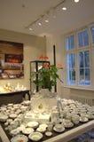 Mercado de la porcelana de Meissen Imágenes de archivo libres de regalías