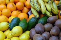 Mercado de las frutas Foto de archivo