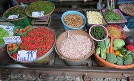 Mercado de las frutas y verduras Fotografía de archivo libre de regalías