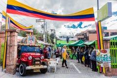 Mercado de las Pulgas de Usaquen Bogota Colombia Royalty Free Stock Image