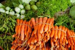 Mercado de las verduras frescas Imagen de archivo