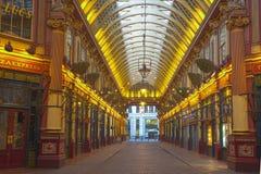 Mercado de Leadenhall, Londres, Reino Unido Fotos de archivo libres de regalías
