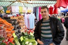 Mercado de los granjeros Imágenes de archivo libres de regalías