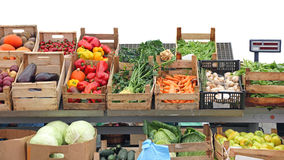 Mercado de los granjeros Fotos de archivo