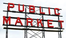 Mercado de lugar de Pike fotografía de archivo
