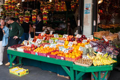 Mercado de lugar de Pike em Seattle, WA Foto de Stock Royalty Free
