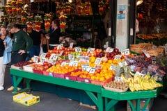 Mercado de lugar de Pike en Seattle, WA Foto de archivo libre de regalías