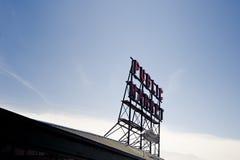 Mercado de lugar de Seattle Pike imagen de archivo