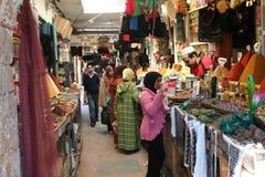 Mercado de Marruecos fotografía de archivo libre de regalías