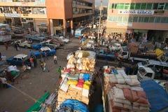 Mercado de Merkato Foto de archivo libre de regalías