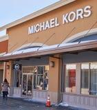Mercado de Michael Kors Fotografía de archivo libre de regalías