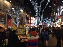 Mercado de Myeongdong Fotos de Stock