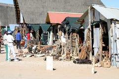 Mercado de Namíbia imagem de stock
