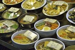 Mercado de Namdaemun em Seoul, Coreia do Sul fotos de stock