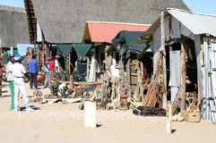 Mercado de Namibia Imagen de archivo