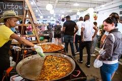 Mercado de Neighbourgoods em Joanesburgo fotografia de stock royalty free