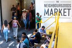 Mercado de Neighbourgoods em Joanesburgo imagens de stock royalty free