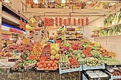 Mercado de Olivar da plaza imagem de stock royalty free