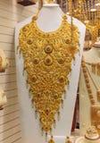Mercado de oro en Dubai, oro Souq de Deira Imágenes de archivo libres de regalías