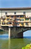 Mercado de ouro de Florença Fotos de Stock