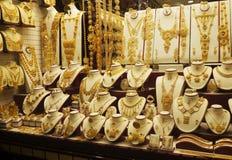Mercado de ouro em Dubai Fotografia de Stock Royalty Free
