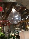 Mercado de París de las lámparas Fotos de archivo