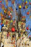 Decoración de Pascua, Praga fotografía de archivo libre de regalías