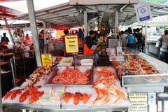 Mercado de peixes Fotografia de Stock Royalty Free