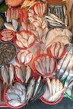 Mercado de peixes Imagens de Stock Royalty Free