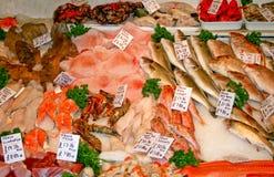 Mercado de peixes Imagem de Stock