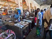 Mercado de peixes Fotografia de Stock