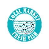 Mercado de peixes 4 Ilustração do Vetor