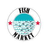 Mercado de peixes 4 Ilustração Stock
