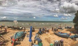 Mercado de peixes da manh? fotografia de stock royalty free