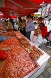 Mercado de peixes de Bergen Imagem de Stock Royalty Free