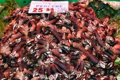 Mercado de peixes em Hong Kong Imagens de Stock