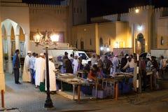 Mercado de peixes em Nizwa, Omã Imagens de Stock
