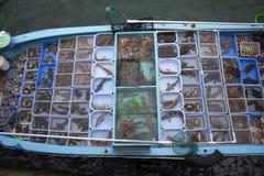 Mercado de peixes Hong Kong fotos de stock