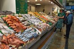 Mercado de peixes de Leeds Imagem de Stock Royalty Free