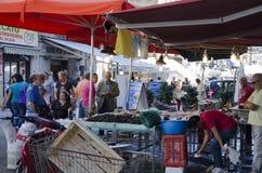 Mercado de peixes, Palermo Fotos de Stock