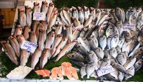 Mercado de pescados Imagen de archivo