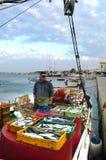 Mercado de pescados foto de archivo