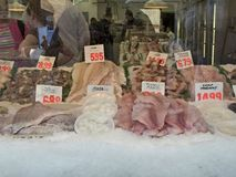 Mercado de pescados Fotografía de archivo libre de regalías
