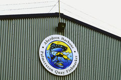 Mercado de pescados de Aberdeen Foto de archivo