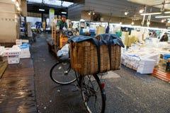 Mercado de pescados de Tsukiji fotos de archivo libres de regalías