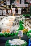Mercado de pescados del lugar de Pike Fotografía de archivo libre de regalías