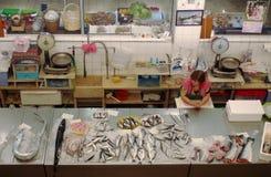 Mercado de pescados en Hong-Kong imagen de archivo libre de regalías